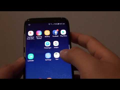 Samsung Galaxy S8: How to Show / Hide App's Icon Frame Border