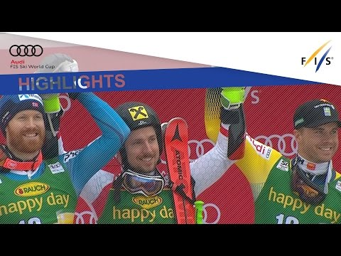 Highlights | Hirscher secures historical sixth straight overall title in Kranjska Gora | FIS Alpine