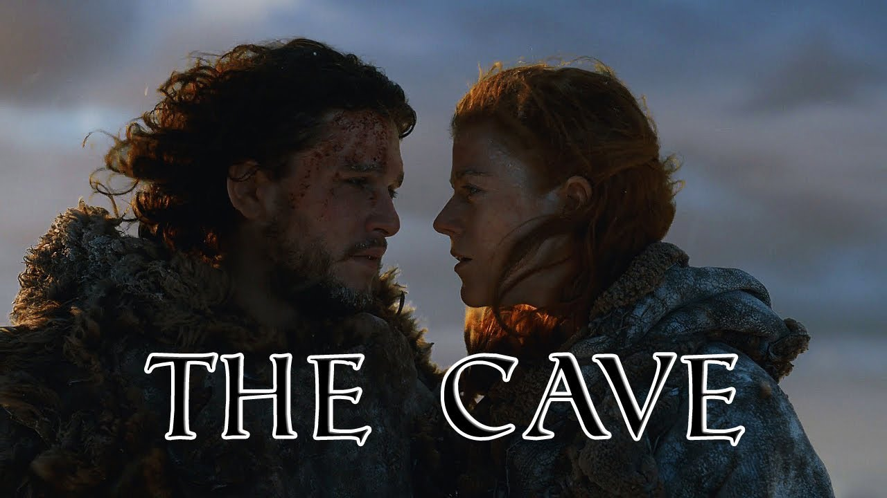 jon snow and ygritte cave