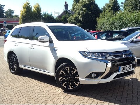 Mitsubishi Outlander 2.0 PHEV GX4h CVT 4X4 5dr for Sale at CMC-Cars, Near Brighton, Sussex
