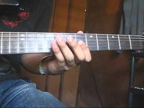 PUSONG BATO GUITAR SOLO TUTORIAL - YouTube