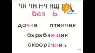Опорные таблицы по русскому языку 2 класс (А3) - видео презентация.
