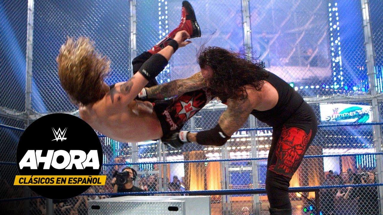 Clásicos en Español: Undertaker vs Edge – Hell in a Cell Match: SummerSlam 2008