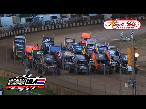 IRA 410 Outlaw Sprints @ Angell Park Speedway | A Main Feature Race (6-9-2019)