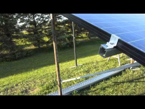 Backyard Solar Panel Rack Doovi