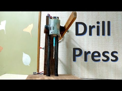 How to make a Drill Press at home - easy way