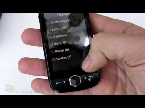 Samsung JET S8000 unboxing video