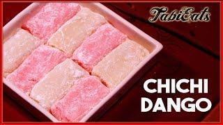 Chichi Dango (Japanese Traditional Sweets Recipe)【紅白に】ミルク餅でおめでたく