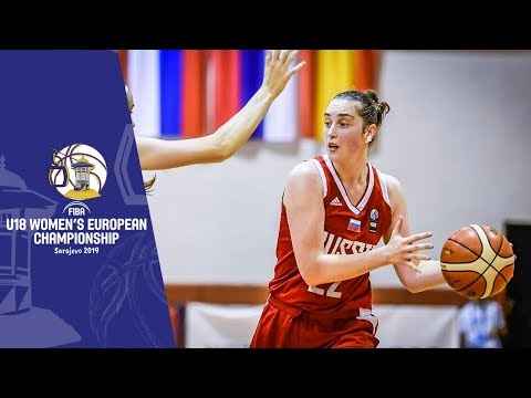 Belarus V Russia - Full Game - FIBA U18 Women's European Championship 2019