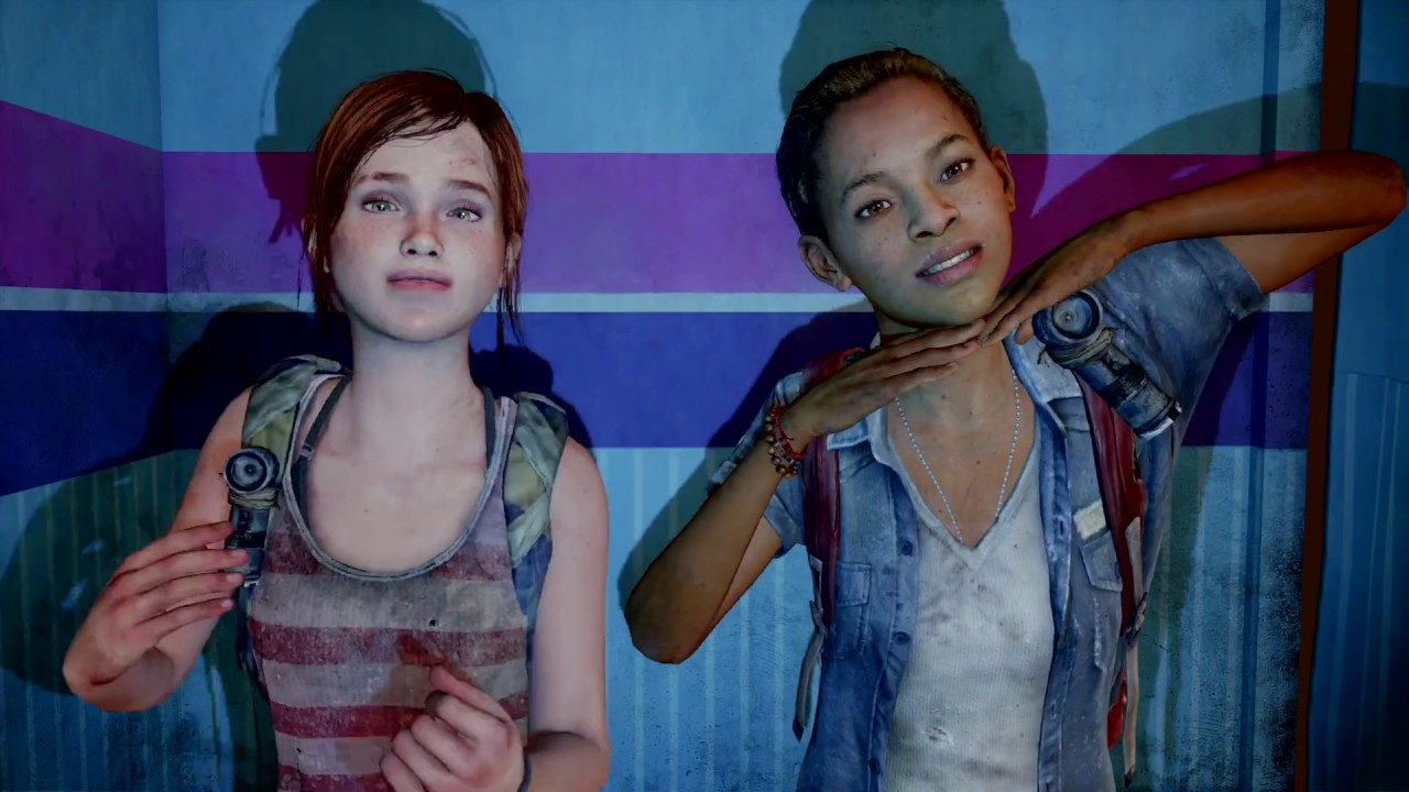 The Last of Us: Left Behind - Ellie and Riley having fun