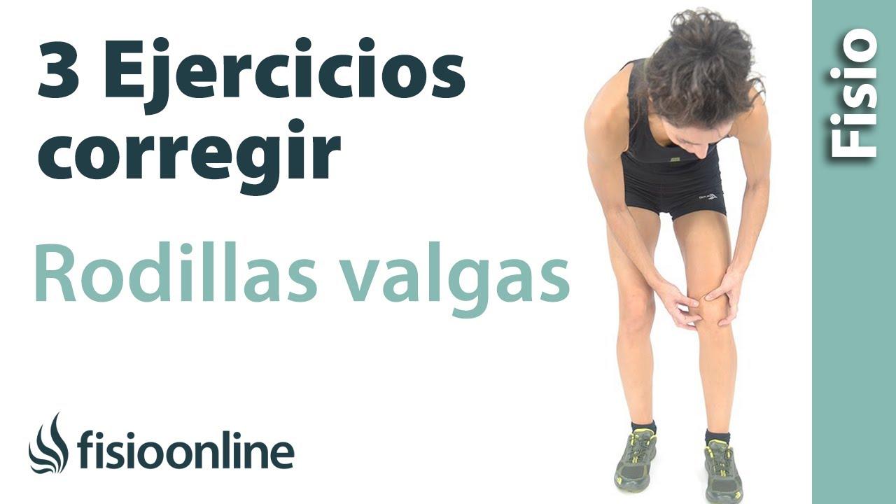 3 Ejercicios Para Corregir Las Rodillas Valgas O Rodillas En X Youtube
