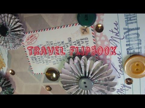 Flipbook Travel Themed