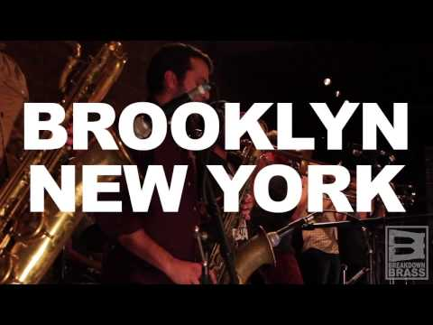 Breakdown Brass live snippets at Pioneer Works, Brooklyn NYC