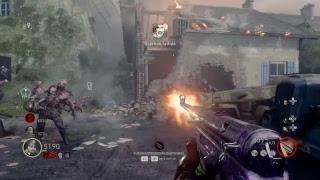 en vivo de marioKD1989  call of duty:WWII DLC3 zombis nazis 4 intento