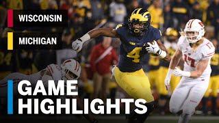 Highlights: Wisconsin Badgers vs. Michigan Wolverines | Big Ten Football