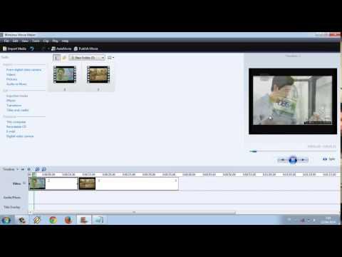 cara menggabungkan video menggunakan windows movie maker