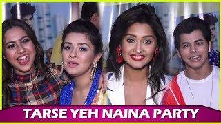 Tarse Yeh Naina Song Launch Party| Reem Shaikh, Siddharth Nigam, Kanchi Singh