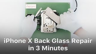 Exclusiv­e - Repair iPhone 8/8P/X Back Glass In 3 Minutes With The New Separator