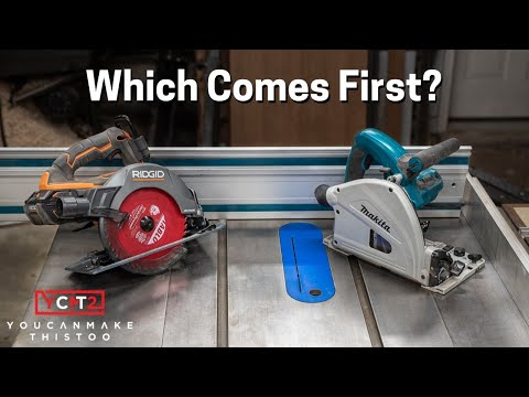 Track Saw, Circular Saw and Table Saw Comparison