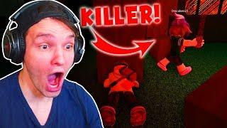 If the KILLER turns around, then LAUF! (Roblox)