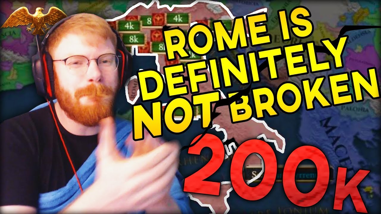 IMPERATOR ROME IS 100% BALANCED AND FAIR! ROME IS DEFINITELY NOT BROKEN! -  TommyKay plays Imperator