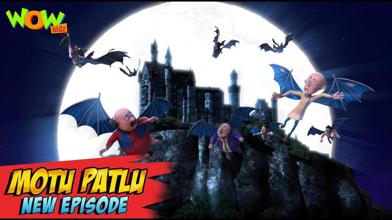 Download Motu Patlu New Episodes 2021 | Alien's Castle | Funny Stories | Wow Kidz