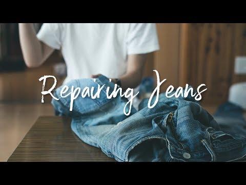 ジーンズをリペアする - Repairing Jeans