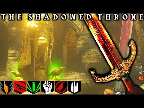 """BOSS FIGHT!!! """"THE SHADOWED THRONE"""" BOSS FIGHT!! FULL EASTER EGG ENDING! WW2 ZOMBIES"""