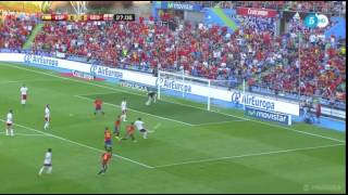 Thiago Shot - Spain vs Georgia International Friendly 2016