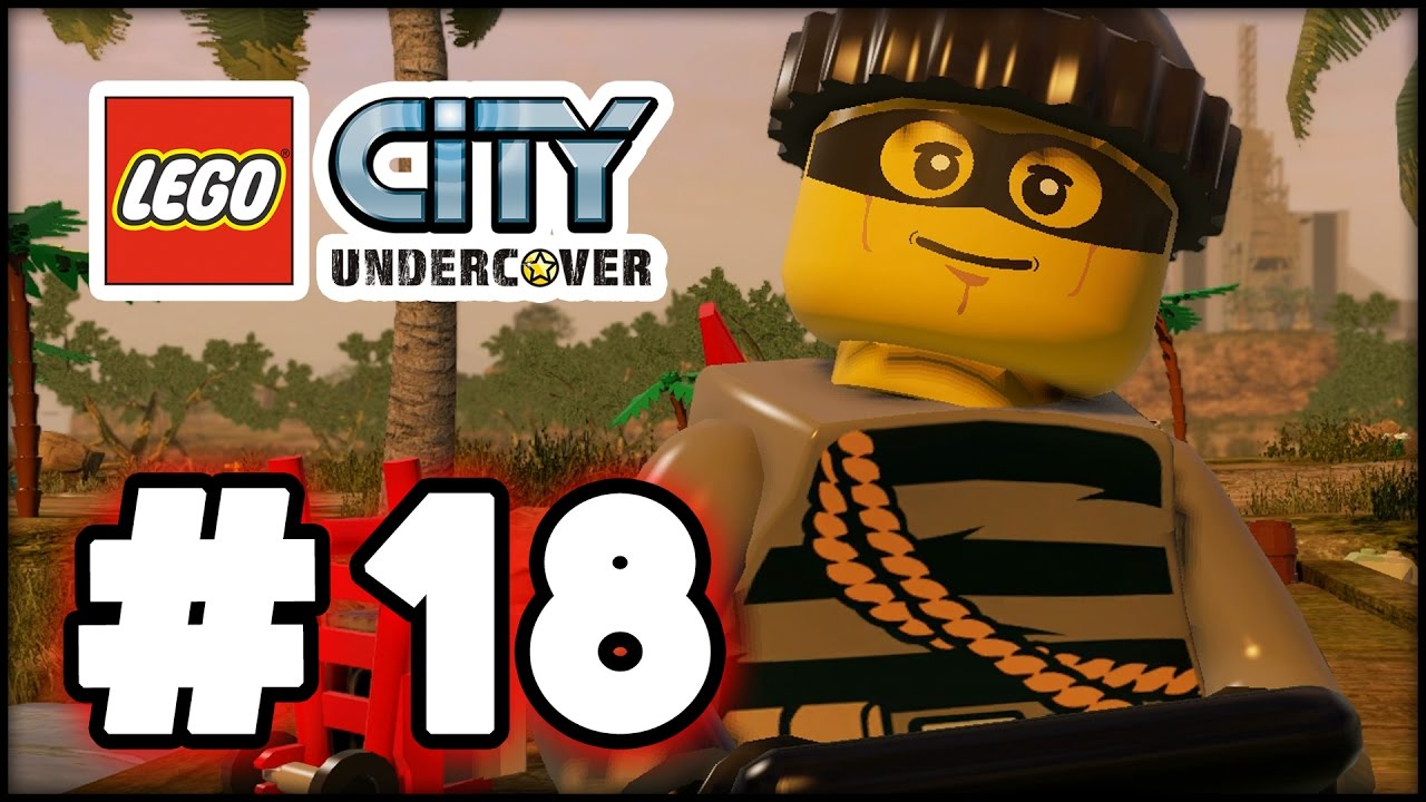 Lego City Undercover Part 18 Blackwell Escape Hd Gameplay Walkthrough Youtube