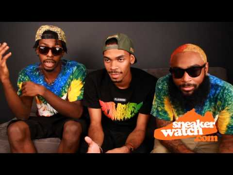 Flatbush Zombies Share Their Thoughts On Foamposites (Sneaker Watch)