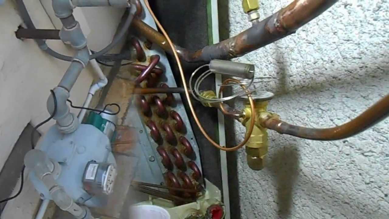 Residential A C Service Clean Coils Retrofit Txv Youtube
