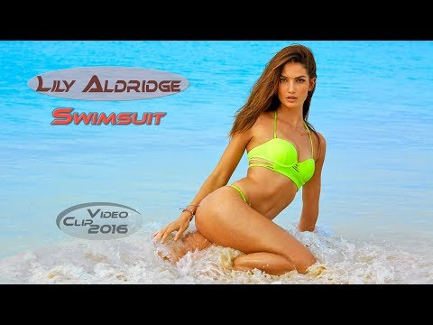 Lily Aldridge Intimates Swimsuit 2016 | Sports Illustrated Swimsuit HD