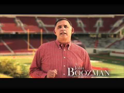 """John Boozman for United States Senate - """"Razorback Lessons"""""""