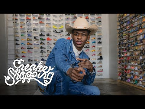 Lil Nas X Goes Sneaker Shopping, Discusses New-found Fame & More
