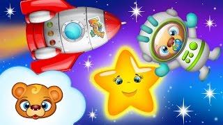 Piosenki dla dzieci | ABC piosenki angielskie | Twinkle Twinkle Little Star - najlepsze rymowanki