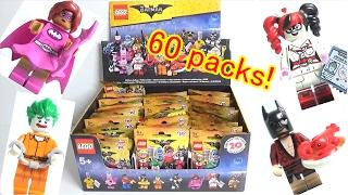 不良品!?レゴ バットマン ザ・ムービー開封! 71017 THE LEGO BATMAN MOVIE MINIFIGURES 60 PACKS OPENED!Defective item?