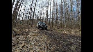 Winter Overlanding & Camping in Ohio in February 2019
