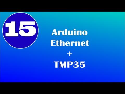 Arduino Ethernet + TMP35