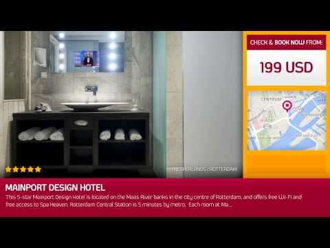 Mainport Design Hotel (Rotterdam, Netherlands)