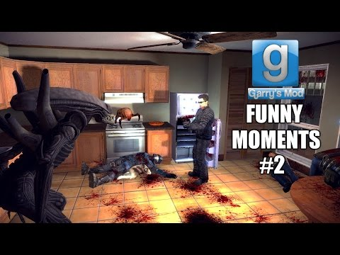 Gmod: Funny Moments #2 w/Friends (Garry's Mod Sandbox Nonlinear Gameplay 60fps)