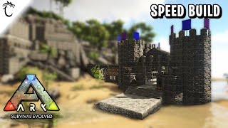 ARK - Castle Crafting Area - Speed Build