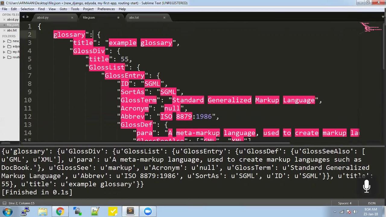 Python - xml, json, functional programming