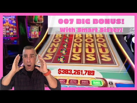 💥007 Slot Machine BIG WIN At Cosmopolitan💥