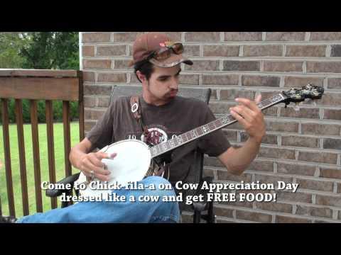 Banjo Player Andy Hunt Chick-fil-a Promo