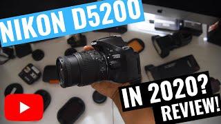 NIKON D5200 Review In 2020? Is it worth it?