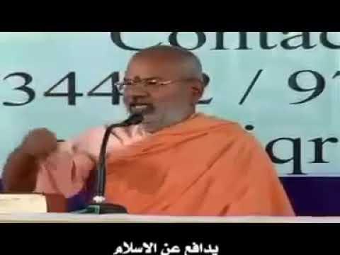 Hindu pandit talkin abt real islam