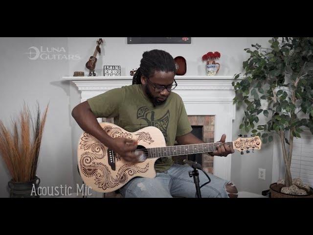 Henna Dragon Series Session | Acoustic Guitar, Ukuleles, Cajon