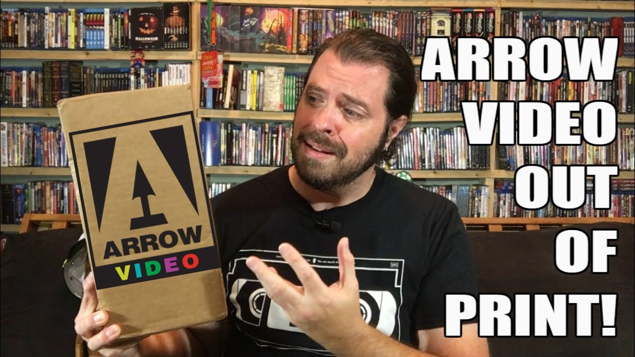 Arrow Video Closeout / Going Out of Print Sale Haul