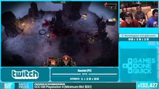 Gauntlet (PC) by Murphagator and PJ in 56:33 - Summer Games Done Quick 2015 - Part 29